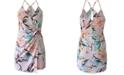 BCBGeneration Twist-Front Surplice Dress