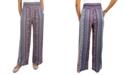 Be Bop Juniors' Smocked-Waist Wide-Leg Pants