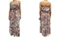 Be Bop Juniors' Strapless Tiered Maxi Dress