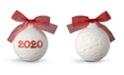 Lladro Lladro Collectible Figurine, 2020 Red Christmas Ball