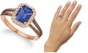 Le Vian Blueberry Tanzanite (1-1/2 ct. t.w.) & Diamond (1/3 ct. t.w.) in 14k Rose Gold