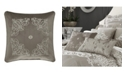 "J Queen New York Crestview 18"" Square Decorative Throw Pillow"