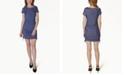 Ultra Flirt Juniors' Ruched Shift Dress