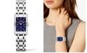 Longines Women's Swiss Dolce Vita Stainless Steel Bracelet Watch 20x32mm