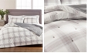 Martha Stewart Collection Tufted Plaid Twin/Twin XL Quilt, Created for Macy's
