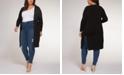 Black Tape Plus Size Long Cardigan