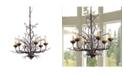 "Home Accessories Kinsley 23"" 6-Light Indoor Chandelier with Light Kit"