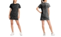 DKNY Sport Cotton Washed Logo T-Shirt Dress
