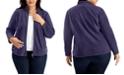 Karen Scott Plus Size Zeroproof Jacket, Created for Macy's