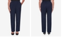 Alfred Dunner Women's Plus Size Vacation Mode Twill Proportioned Pant