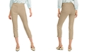 Alfani Fringed-Hem Ankle Pants, Created for Macy's