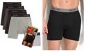 Hanes Men's Boxer Briefs 4-Pack + 1 Extra Bonus Pair