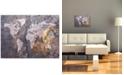 """Trademark Global Michael Tompsett 'World Map - Rock' Canvas Art - 24"""" x 18"""""""