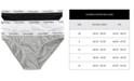 Calvin Klein Carousel Cotton Bikini 3-Pack QD3588