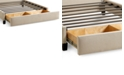 Furniture Upholstered Sulinda Caprice Hemp California King Storage Base