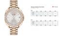 COACH Women's Tatum Carnation Gold-Tone Stainless Steel Bracelet Watch 34mm 14502590