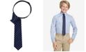 Tommy Hilfiger Dot-Print Zipper Tie, Big Boys