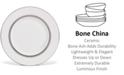 Vera Wang Wedgwood Dinnerware, Grosgrain Accent Plate