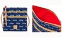 Dooney & Bourke Seattle Seahawks Dooney & Bourke Triple-Zip Crossbody Bag