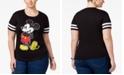 Love Tribe Disney Trendy Plus Size Mickey Graphic T-Shirt