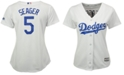 Majestic Women's Corey Seager Los Angeles Dodgers Cool Base Player Replica Jersey