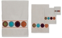 """Creative Bath Dot Swirl 20"""" x 27"""" Cotton Hand Towel"""