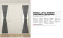 "Sun Zero Grant Room Darkening 26"" x 72"" Sidelight Curtain Panel"