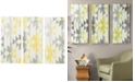 JLA Home INK+IVY Yellow Sierra 3-Pc. Gel-Coated Canvas Print Set
