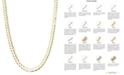 Macy's Curb Chain (4-3/5-7mm) Necklace in 14k Gold