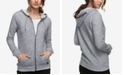 Roxy Juniors' Trippin French Terry Zip-Front Hoodie