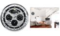 Citizen Gallery Silver-Tone Wall Clock
