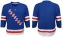Authentic NHL Apparel New York Rangers Blank Replica Jersey, Little Boys (4-7)
