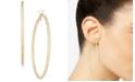 "Thalia Sodi Textured Extra Large 3.75"" Hoop Earrings, Created for Macy's"