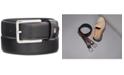 Tommy Hilfiger Men's Flex Feather-Edge Dress Belt