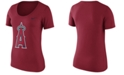 Nike Women's Los Angeles Angels Cotton Crew Logo T-Shirt