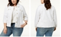 Tommy Hilfiger Plus Size Denim Trucker Jacket, Created for Macy's