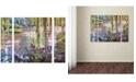"Trademark Global David Lloyd Glover 'Homage to Monet' Multi Panel Art Set Large - 25"" x 30"" x 2"""