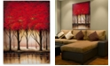 "Trademark Global Rio 'Serenade in Red' Canvas Art - 47"" x 35"""