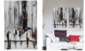 Furniture Ren Wil Bustling City I Wall Art, Quick Ship