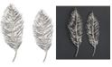 Uttermost Leaflets 2-Pc. Silver-Finish Wall Art Set