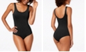 INC International Concepts INC Smooth Scoop-Neck Bodysuit, Created For Macy's