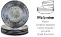 Certified International Radiance Cream Melamine Salad Plates, Set of 6