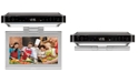 """iLive Bluetooth Under Cabinet Music System, 10"""" LCD display, TV, DVD"""