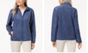 Karen Scott Zeroproof Fleece Jacket, Created for Macy's