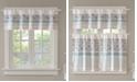 "Madison Park Dawn Cotton 50"" x 18"" Printed and Pieced Rod Pocket Window Valance"