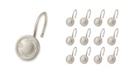 Elegant Home Fashions Shower Hooks - Touch Up - Brush Nickel