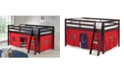 Bolton Furniture Roxy Junior Loft Bed with Tent