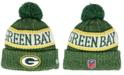 New Era Boys' Green Bay Packers Sport Knit Hat