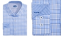 Michelsons of London Men's Slim-Fit Glen Plaid Dress Shirt