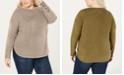 One A Plus Size Drop-Shoulder Sweater